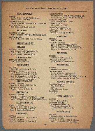 Greenbook Mississippi 1947 b